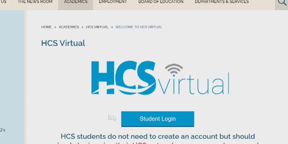 HCS: Just over 1,600 students enrolled in virtual program next school year
