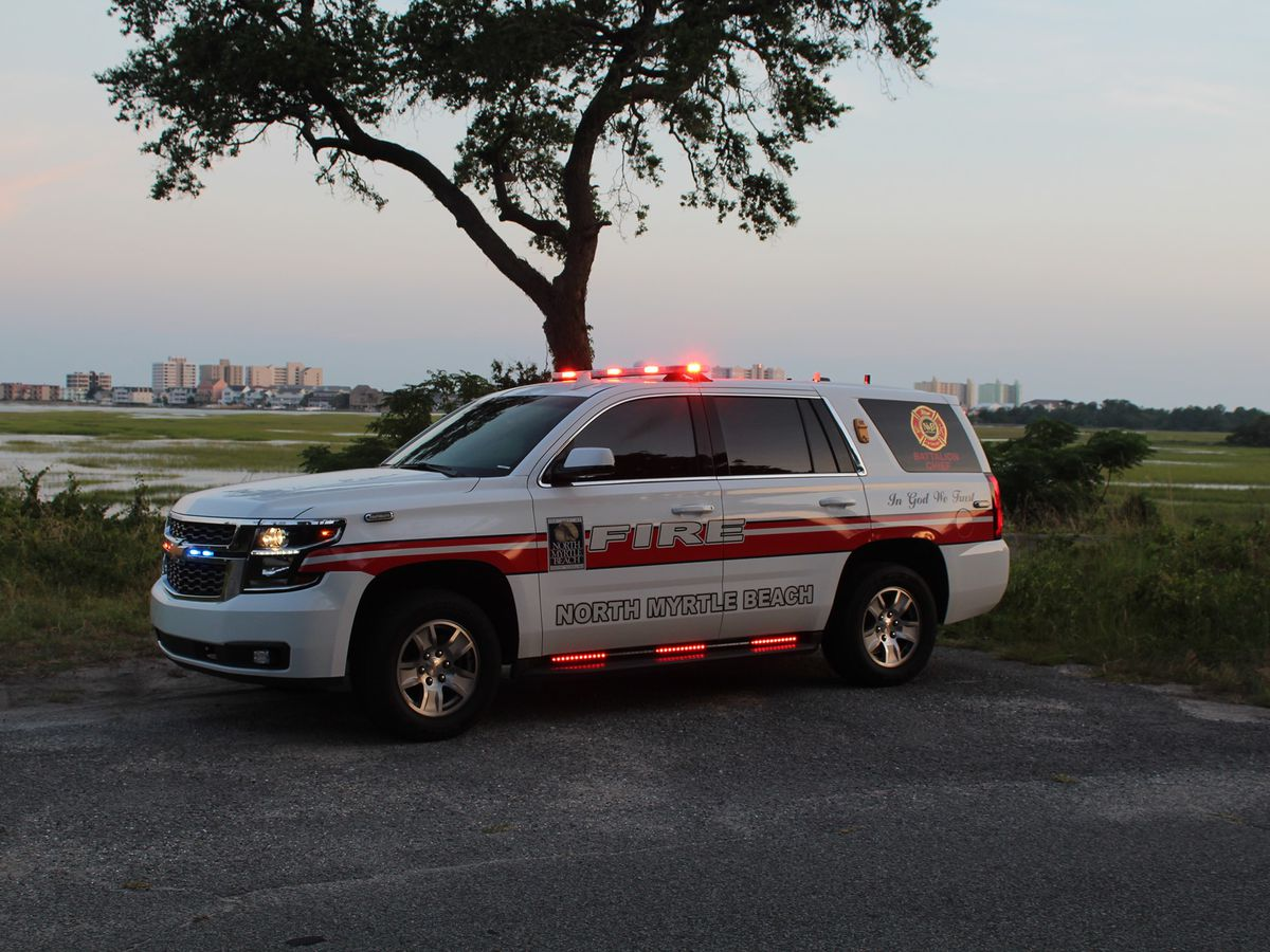 North Myrtle Beach to hire 12 new firefighters with FEMA grant