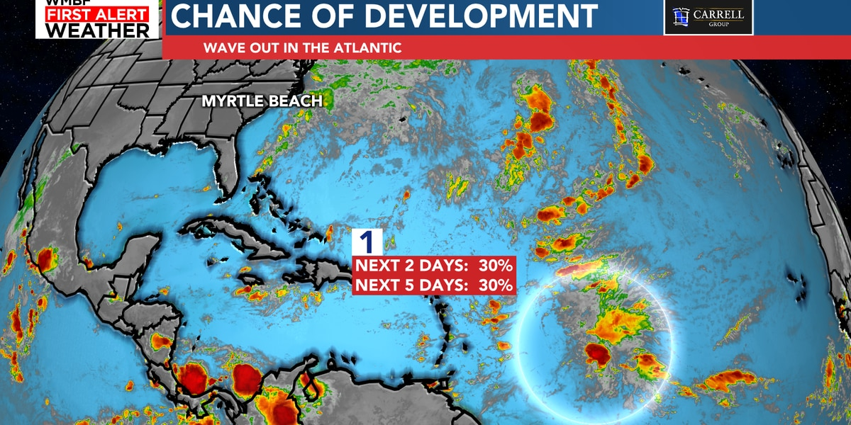 FIRST ALERT: Chance of development in the Atlantic