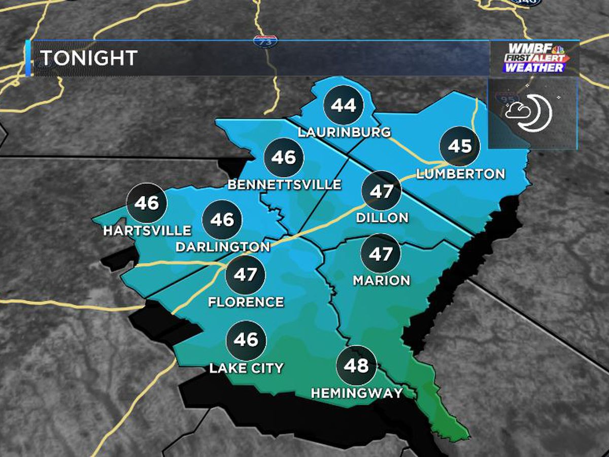 FIRST ALERT: Crisp fall night followed by big Saturday warm-up
