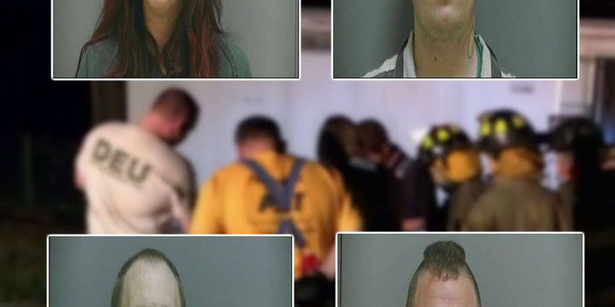 4 arrested, 3 agents exposed to hazardous gas during meth lab bust