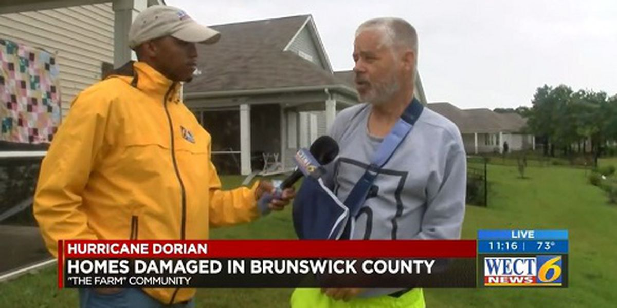 'Last thing I remember was the glass hitting my body': Carolina Shores man recalls the moment a possible tornado tore through his home