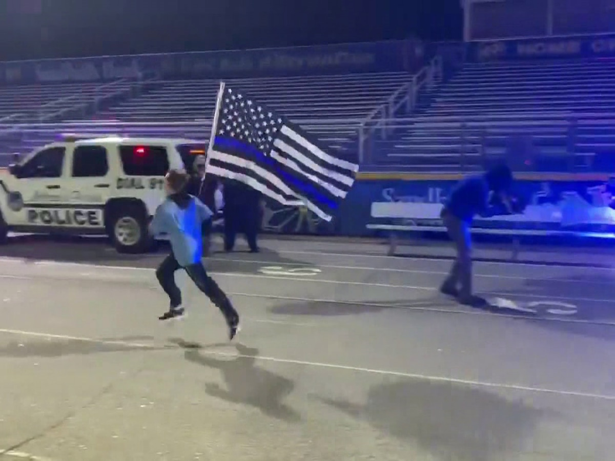 'Running 4 Heroes' honors law enforcement during visit to Grand Strand