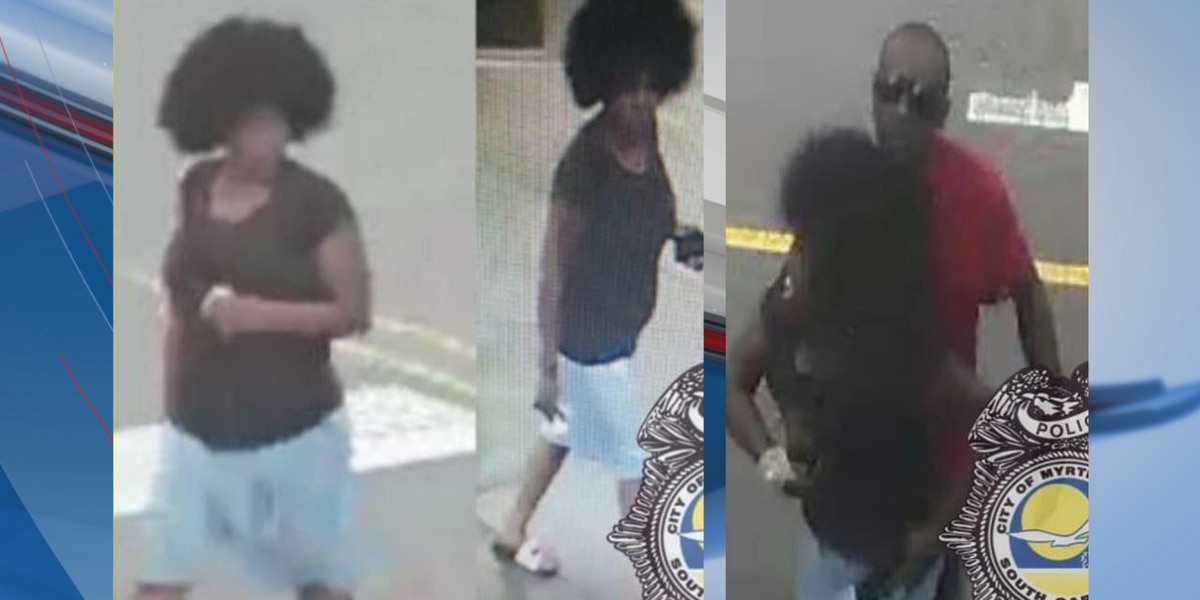 Myrtle Beach Police searching for possible assault suspects