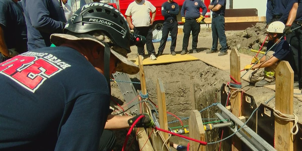 Firefighters train together to improve communication, coordination in emergency response