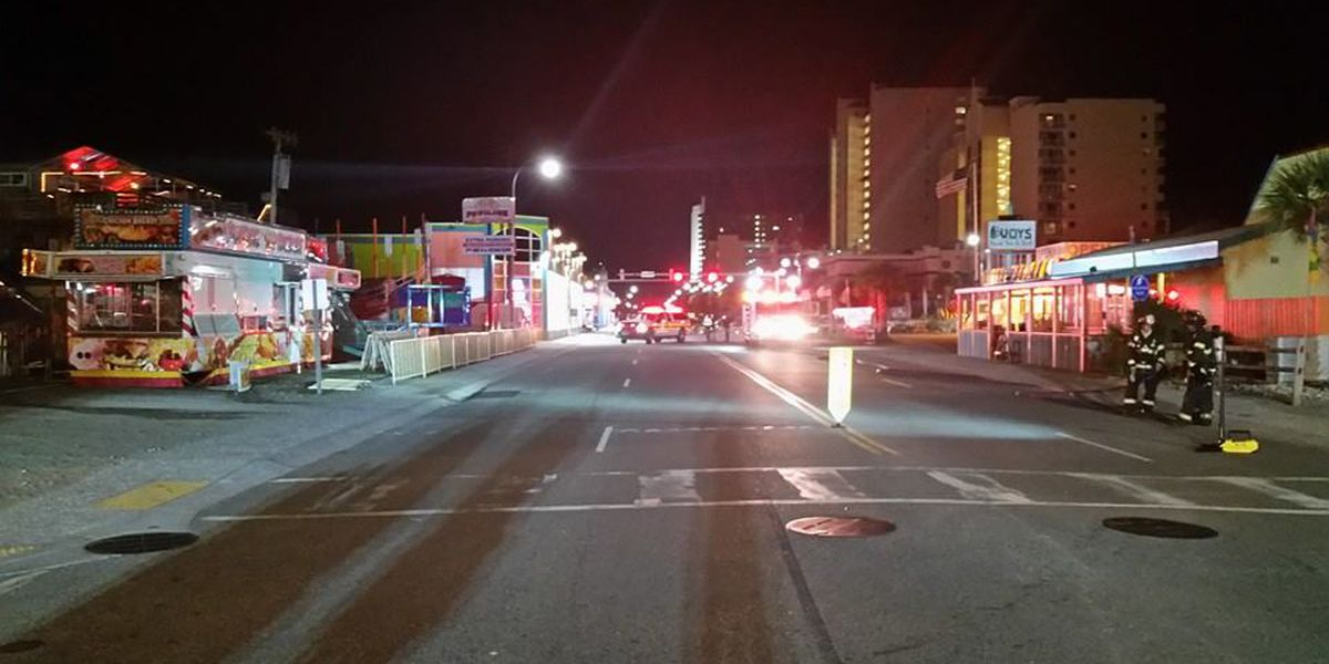 Ocean Boulevard cleared, reopened after gas leak