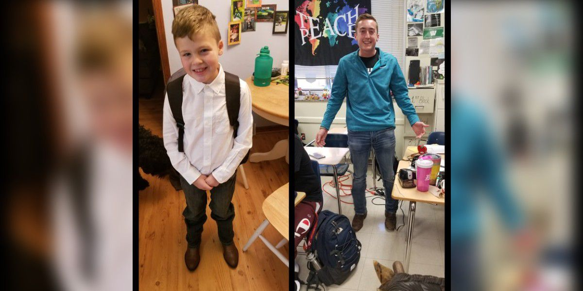 Student was picked on for cowboy boots, then an older student started wearing his in support