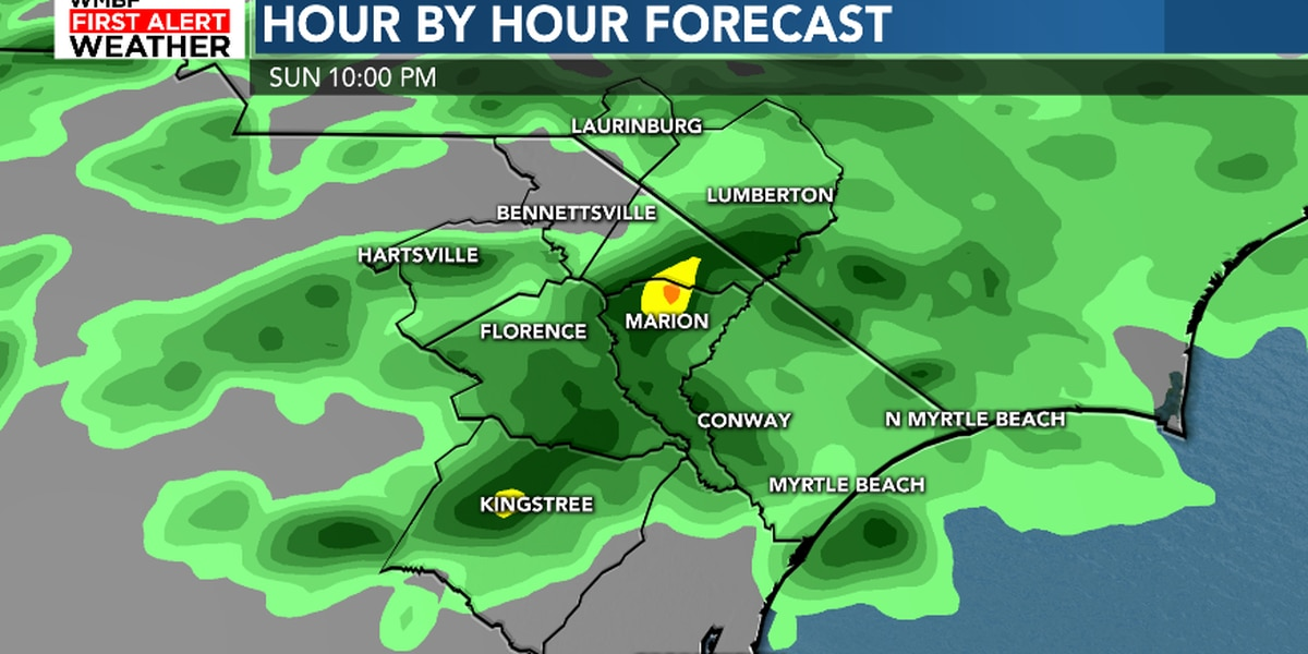 FIRST ALERT: A wet and cool start to the new work week