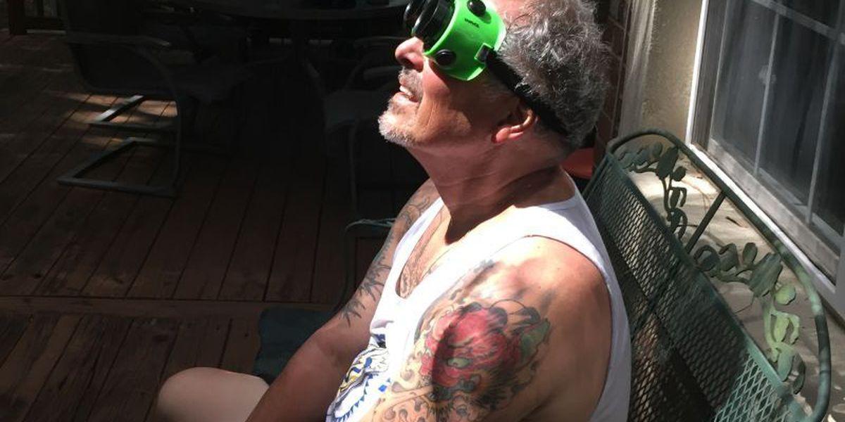 Searches for 'eyes hurt,' 'eye damage' peak during eclipse in South Carolina