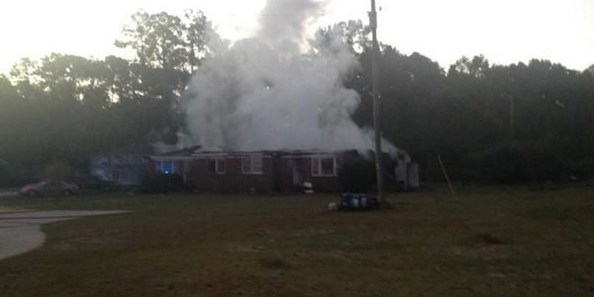 House fire leads to total loss in Darlington County