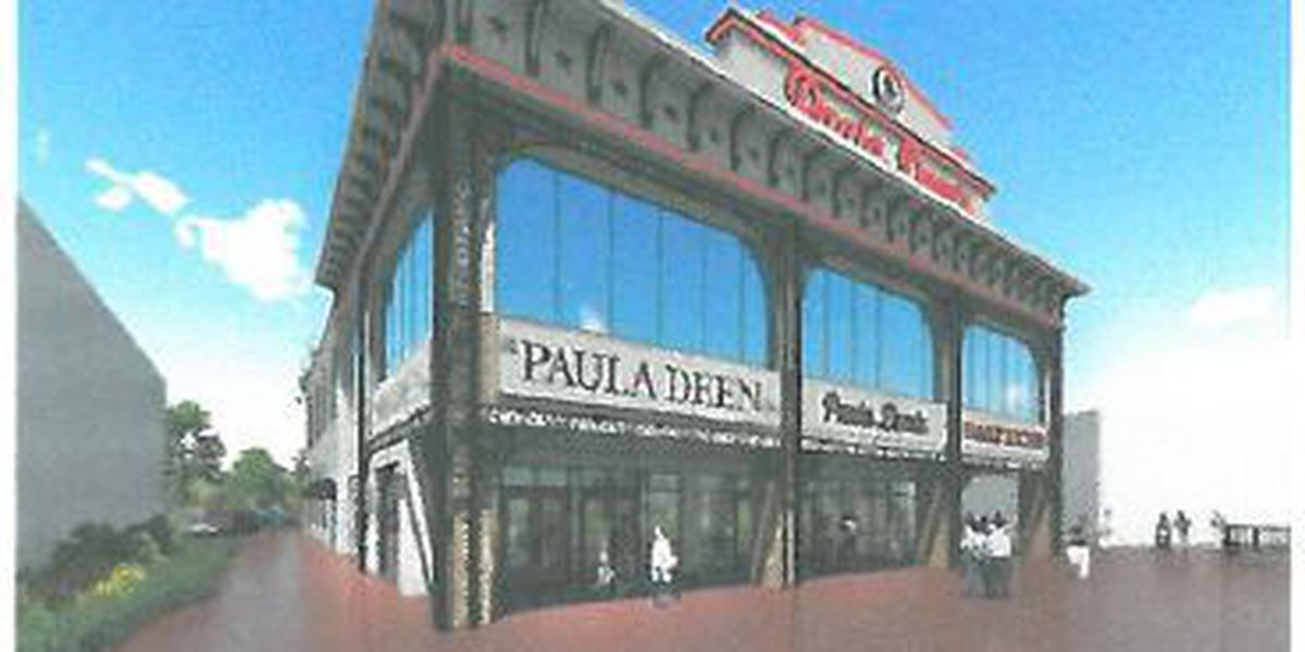 Plans submitted for Paula Deen restaurant at Broadway at the Beach