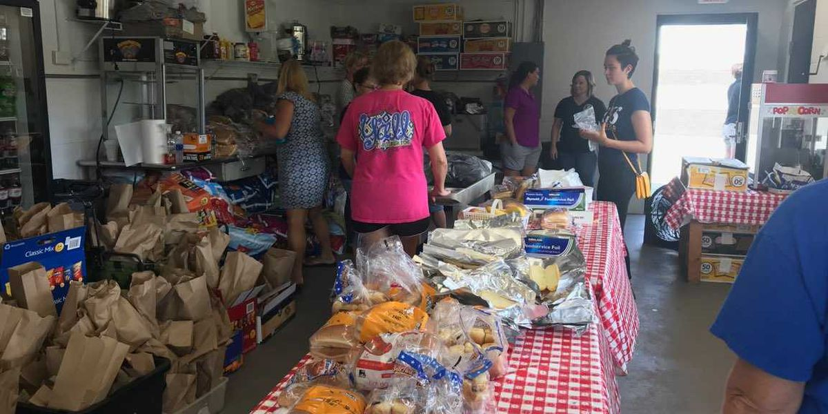 Volunteers come together to feed community