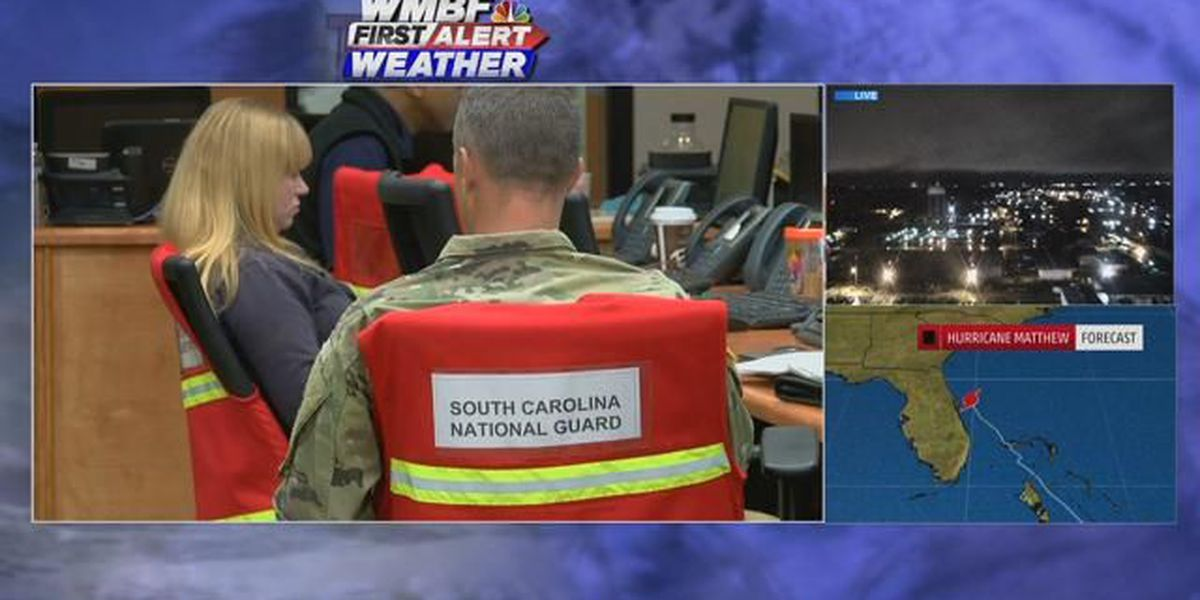 Horry County officials gearing up for Hurricane Matthew, urging people to evacuate