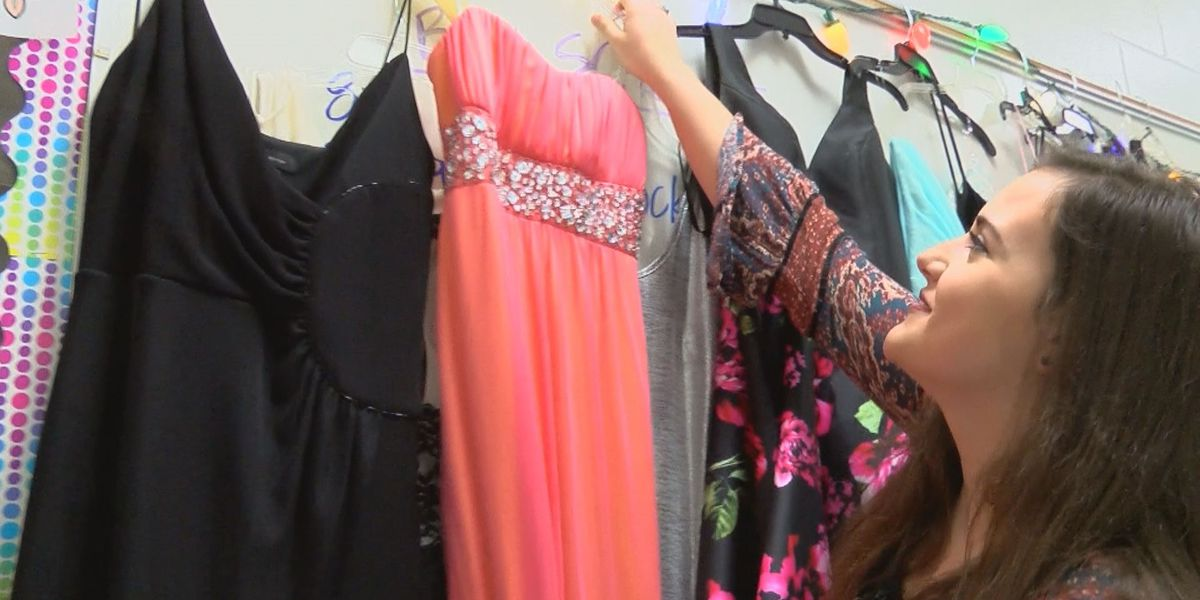Student Spotlight: Making prom possible for those in need, one dress at a time