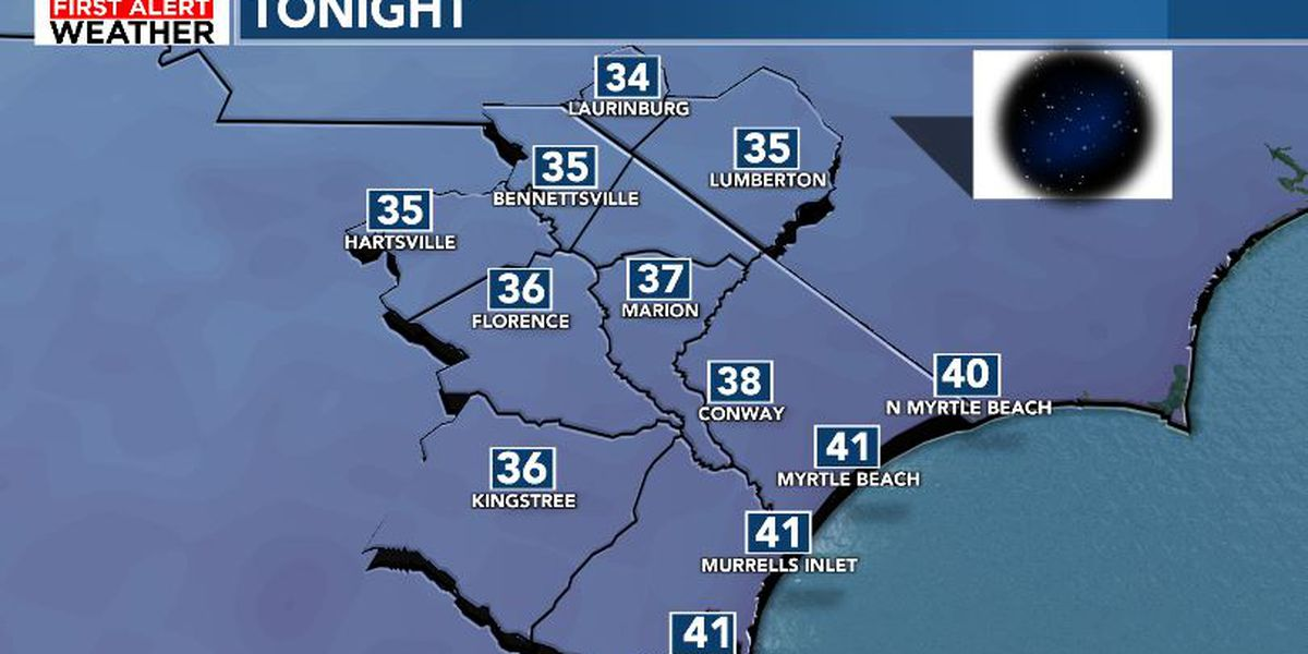 FIRST ALERT: Cooler Tuesday ahead of warm and wet New Years