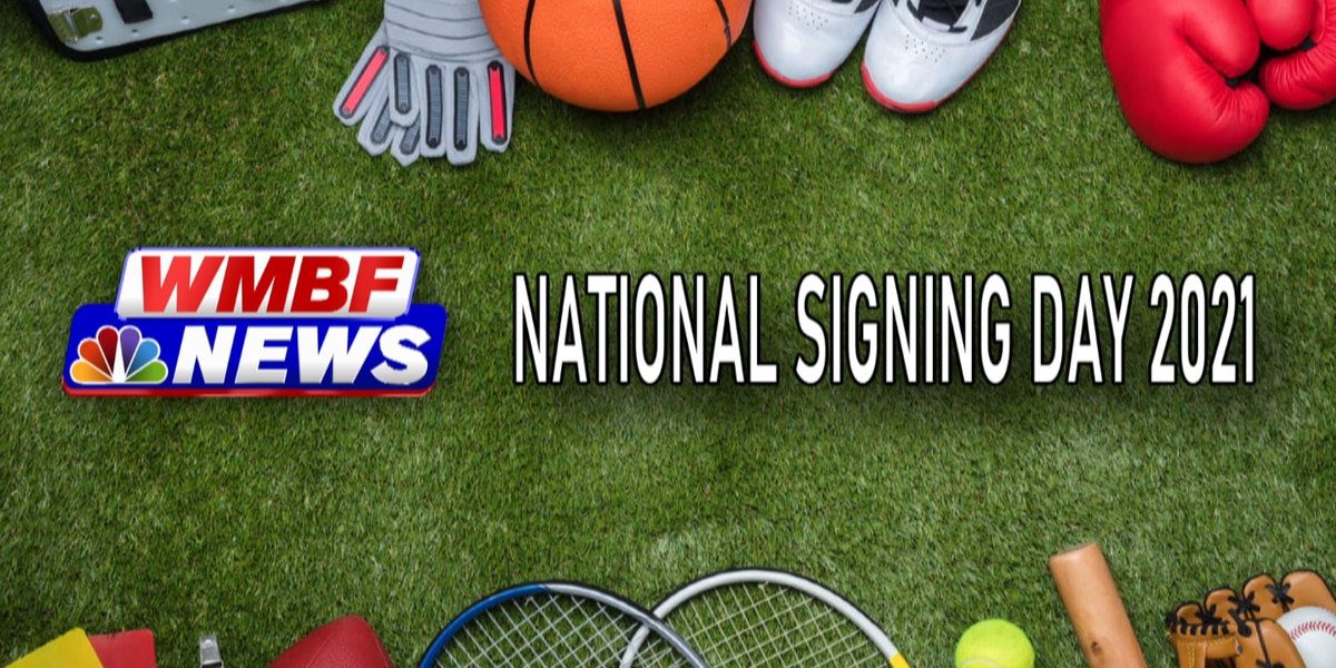 National Signing Day 2021 - Grand Strand, Pee Dee signees