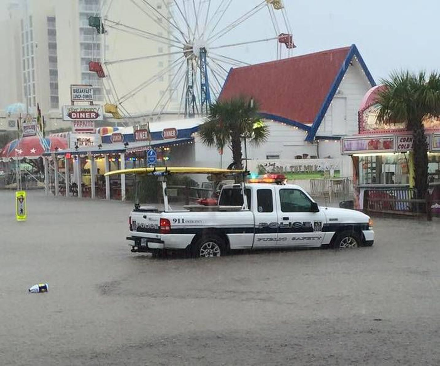 More North Myrtle Beach Flooding From Od Arcade And Lounge