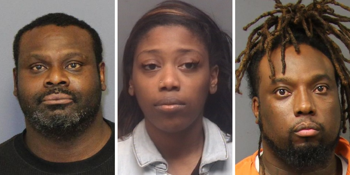 Trio faces charges in connection to Robeson County arcade robbery