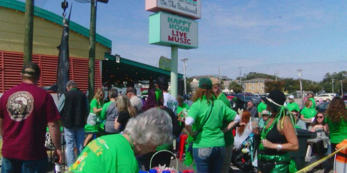 Thousands come out for private St. Patrick's Day celebration in North Myrtle Beach