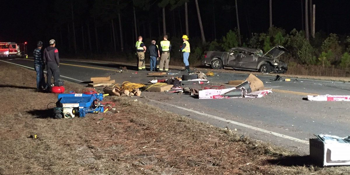 Two-car crash injures four, closes down portion of Carolina Forest Boulevard