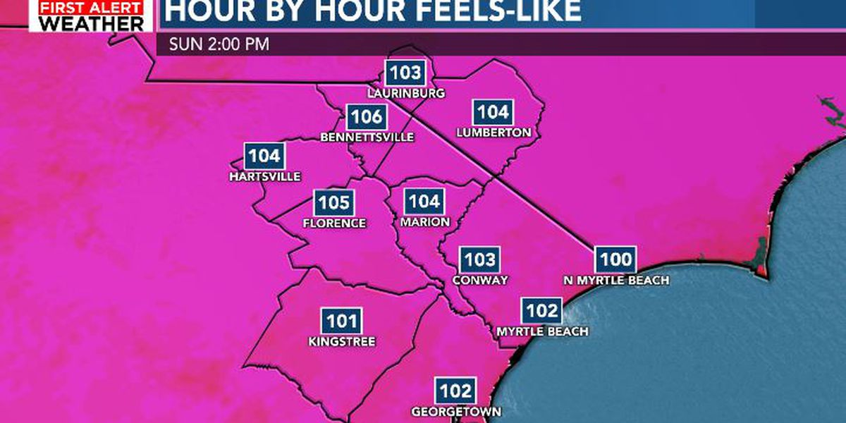 FIRST ALERT: HEAT ADVISORY issued for some areas