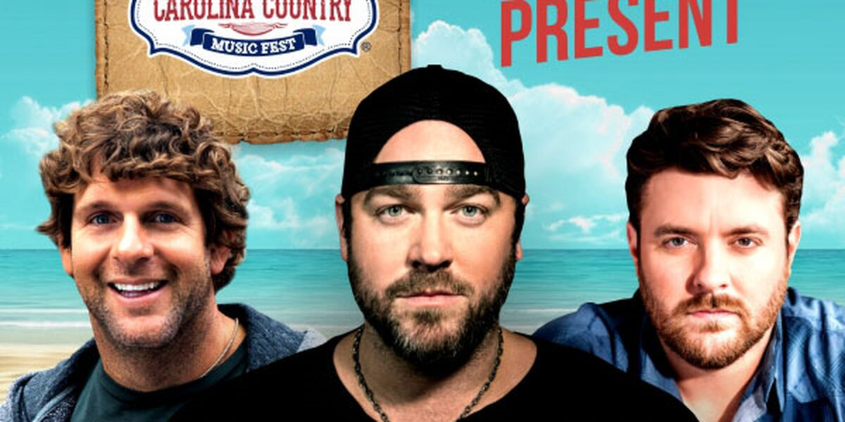 4 more acts announced for 2017 Carolina Country Music Fest