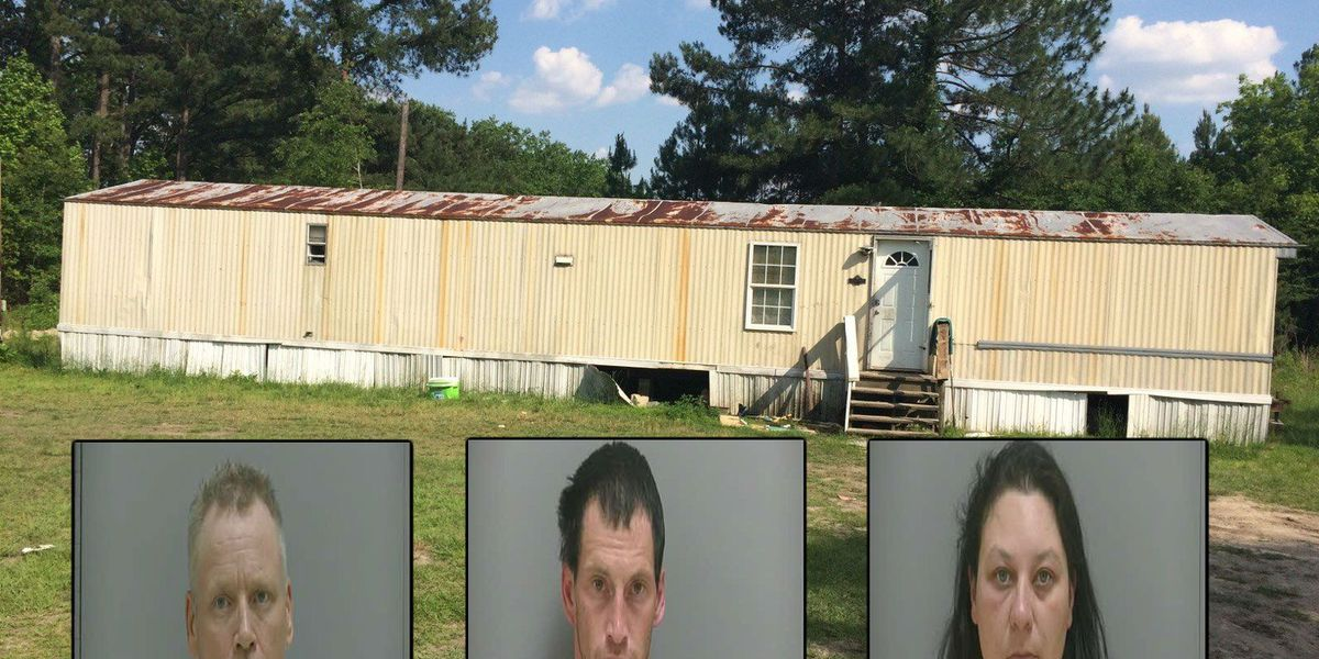 UPDATE: Three suspects arrested for allegedly operating meth labs in Darlington Co.