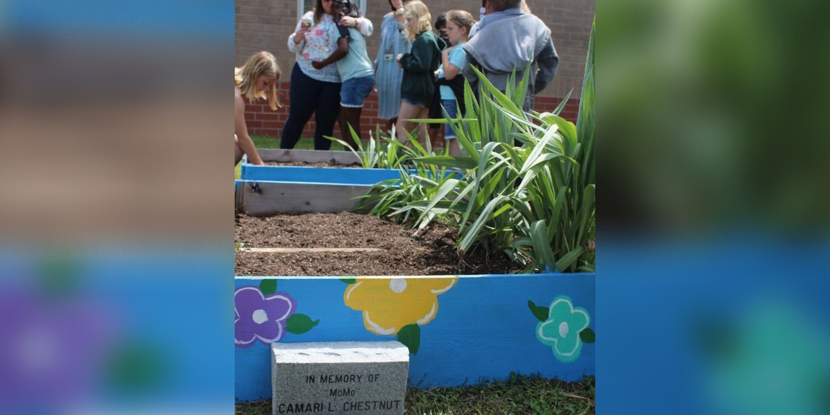 CES plants flower garden in memory of 9-year-old classmate