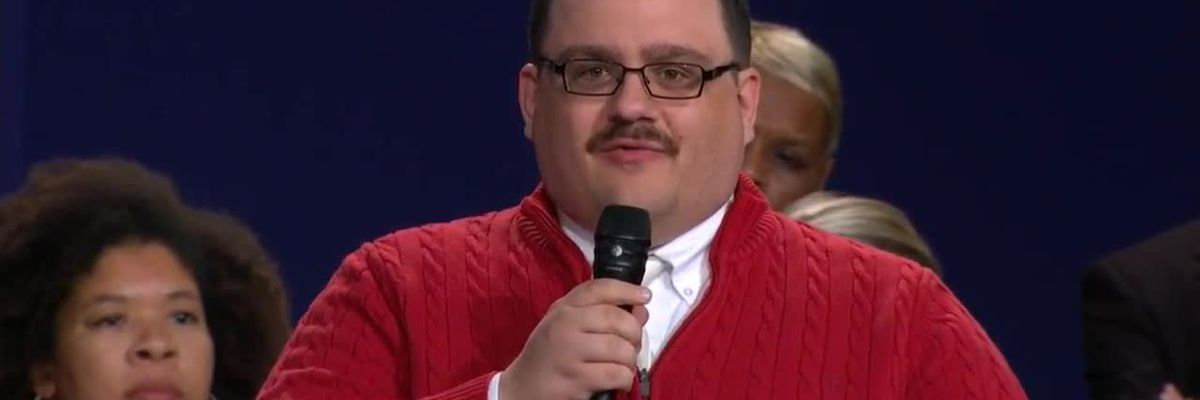 Ken Bone reveals 2020 presidential vote