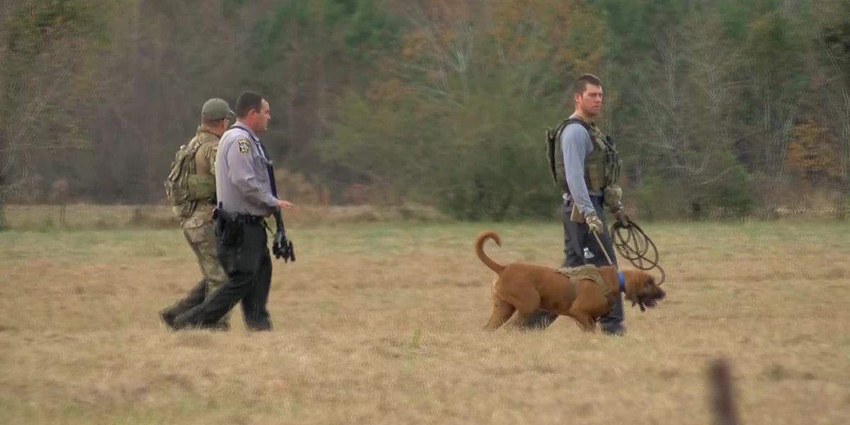 Manhunt in Columbus County NC