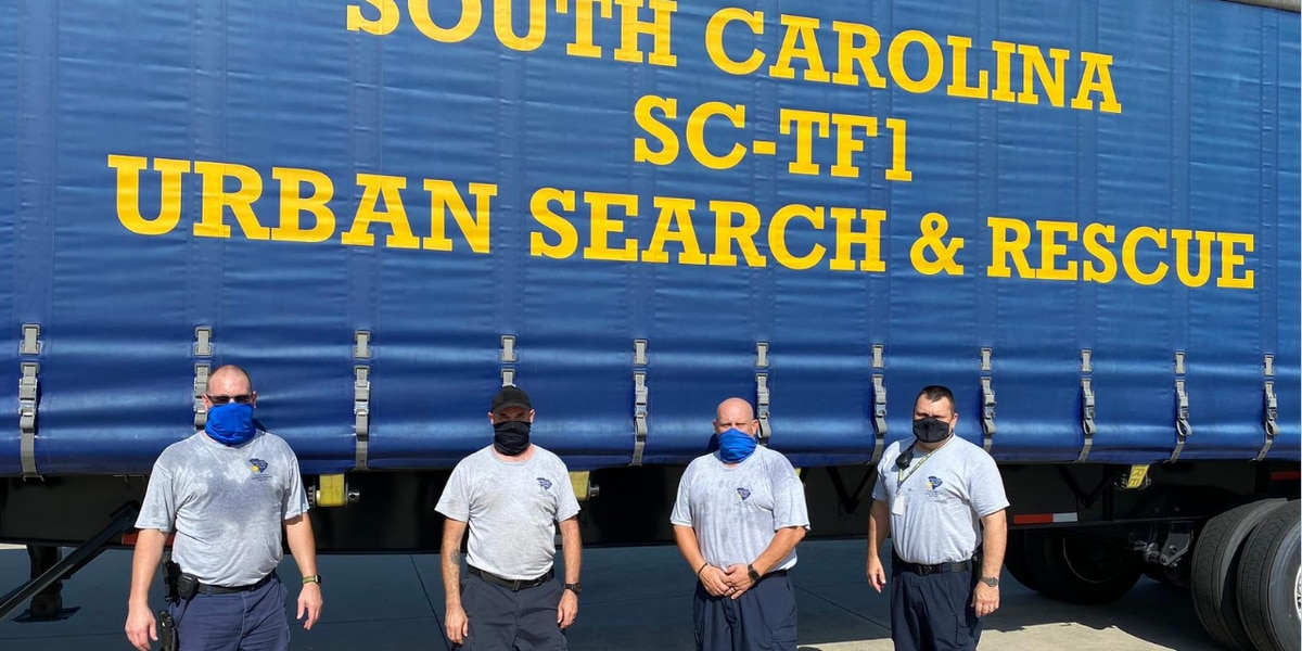 Myrtle Beach, Horry County firefighters deploy to Gulf Coast ahead of Hurricane Laura landfall
