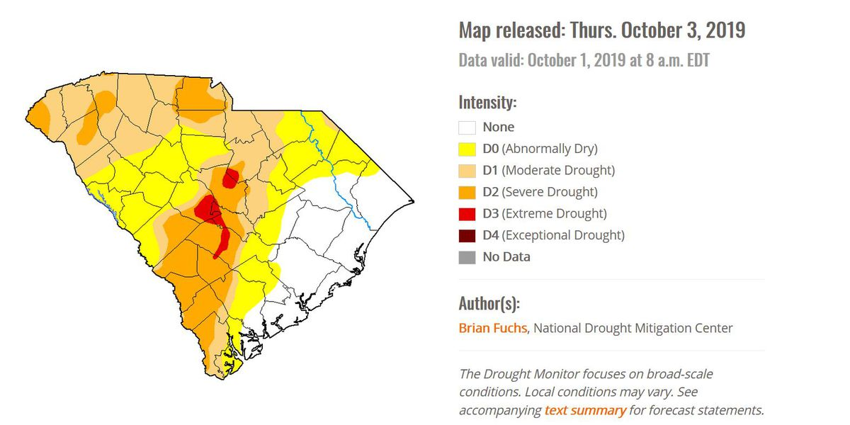 'It's going to stunt the growth': Drought impacting South Carolina farmers