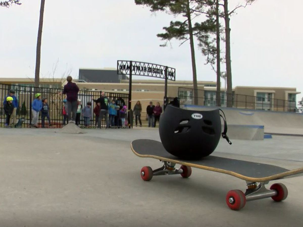 Local skateboarder shares safety, skills with young skaters