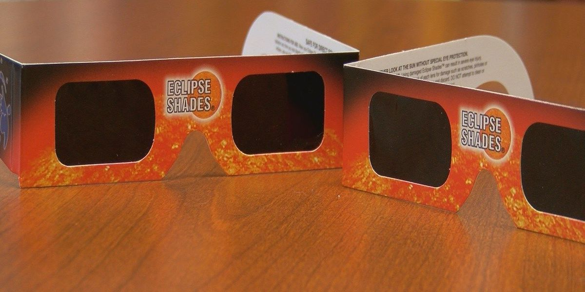 Protect your eyes when watching the total eclipse next month