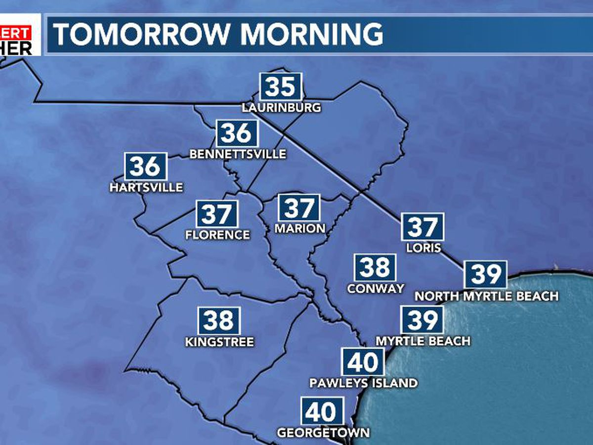 FIRST ALERT: Another cold night ahead