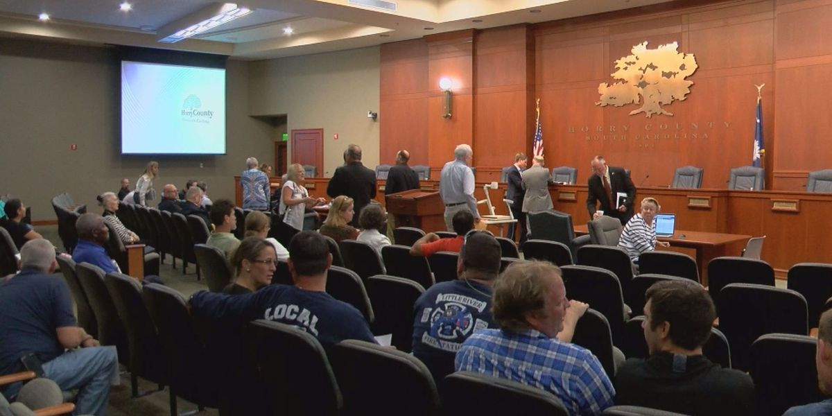 Horry County Council approves special Hurricane Matthew pay for employees