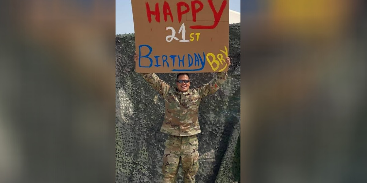 Retired Myrtle Beach police lieutenant wishes daughter 'Happy Birthday' while overseas