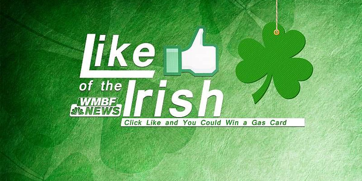 Like of the Irish Gas Card Giveaway Contest Rules