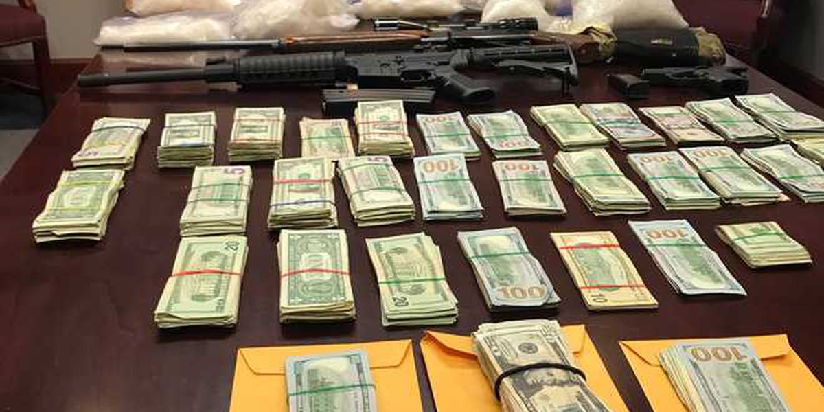 Deputies, DEA make $1.1 million drug bust in S.C.
