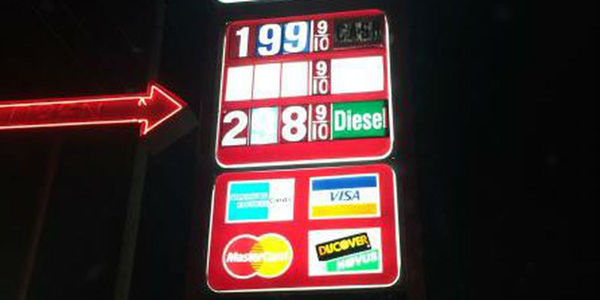 Gas prices drop below $2 in Conway