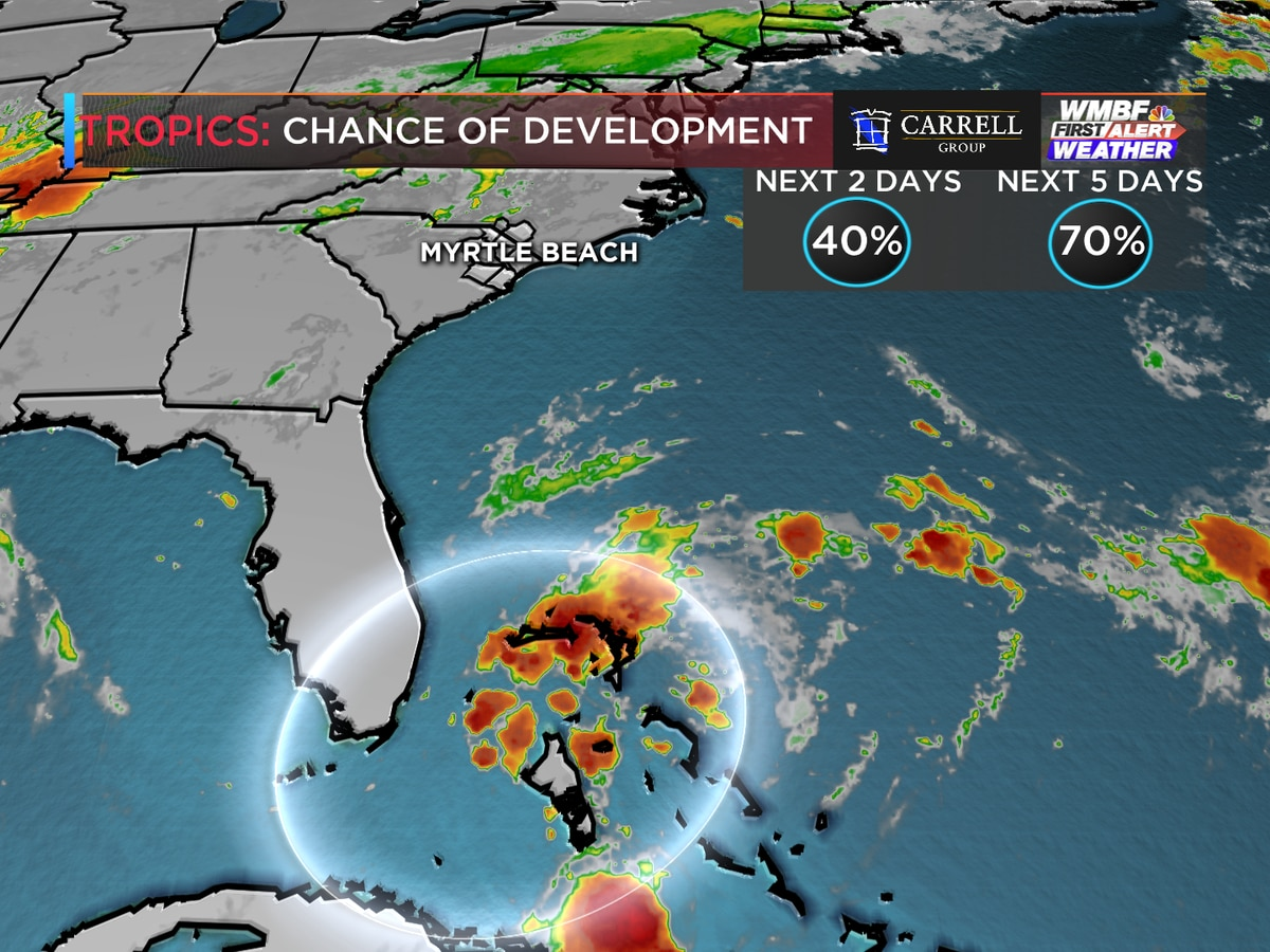 First Alert: Chances for tropical development continue to increase