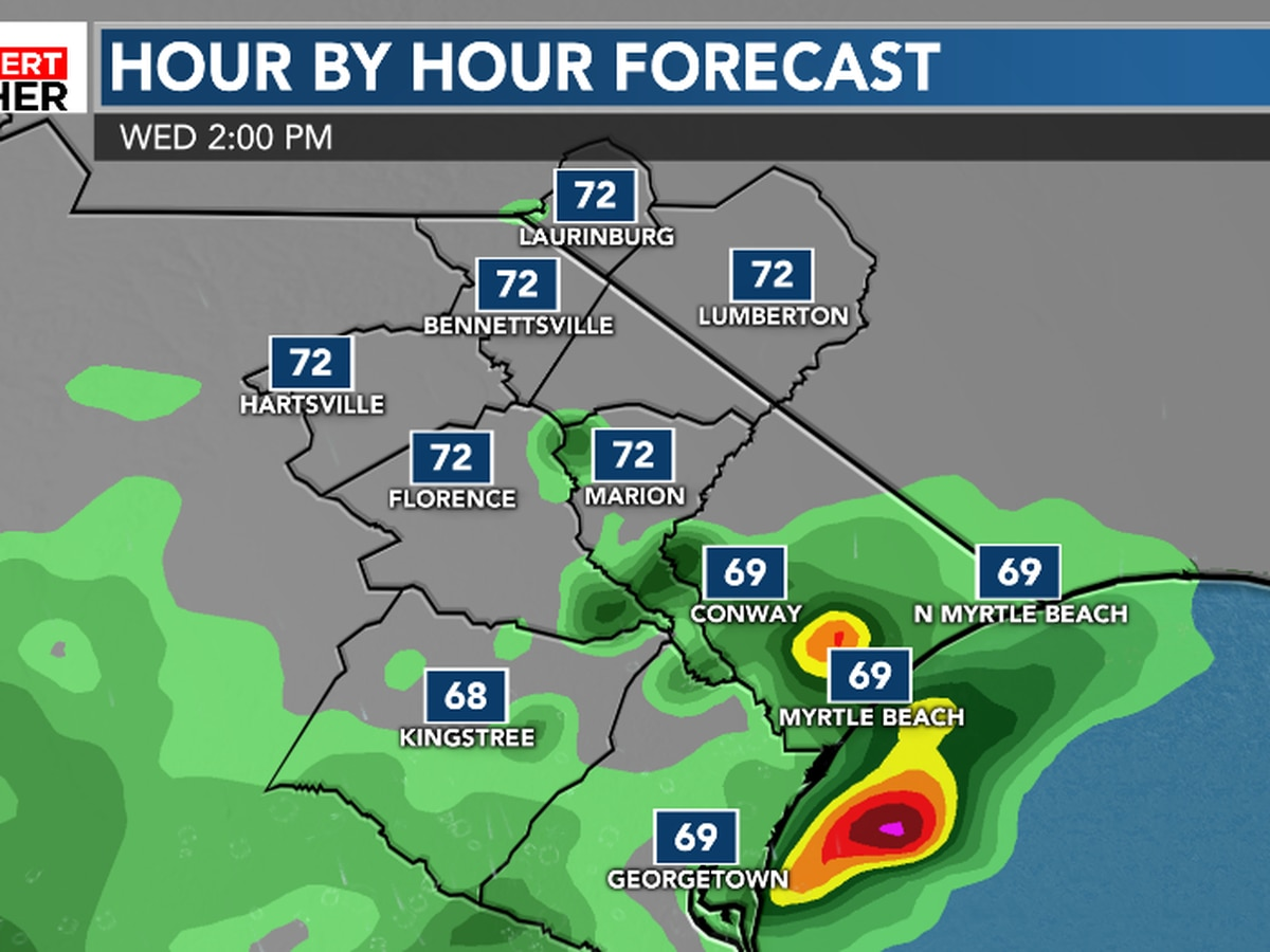 FIRST ALERT: Few more showers before a long drying trend