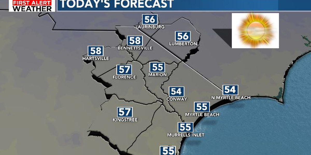 FIRST ALERT: Sunny and cool Sunday, spring-like temperatures ahead