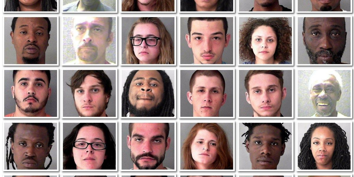 Joint operation nets 30 arrests for drug, weapons, traffic charges in Marlboro County