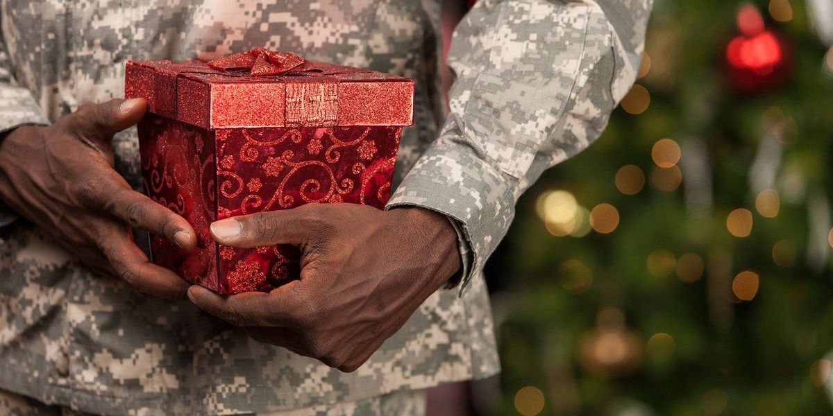 How to give back to deployed soldiers over the holidays
