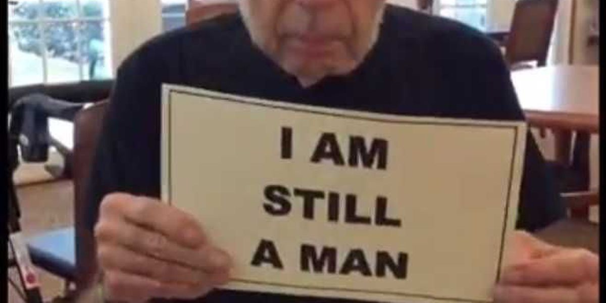 Brookdale Conway senior living community's 'I am Still a Man' movie short wins Courage Award