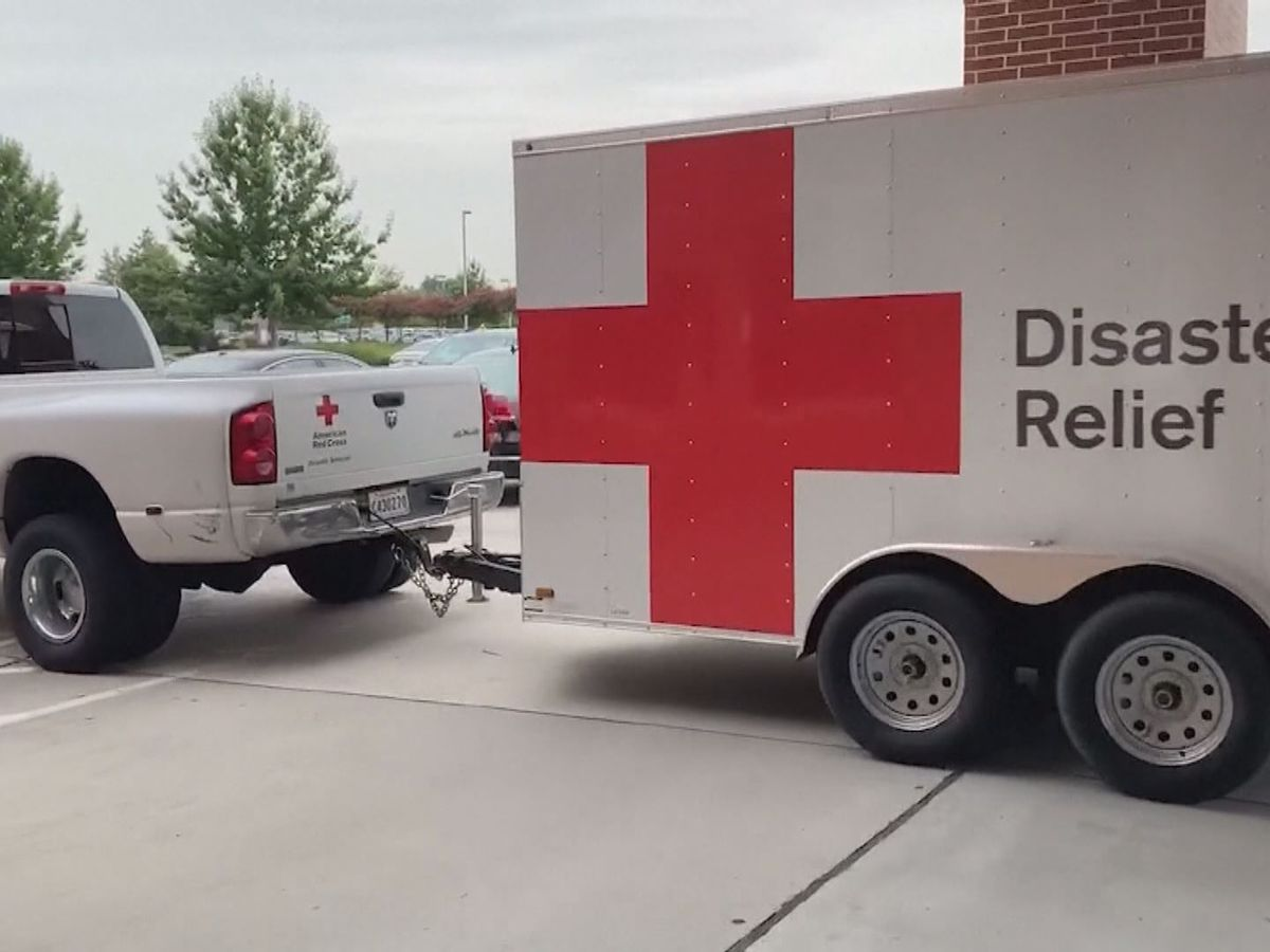 Local Red Cross volunteers travel to Louisiana to help ahead of Tropical Storm Barry