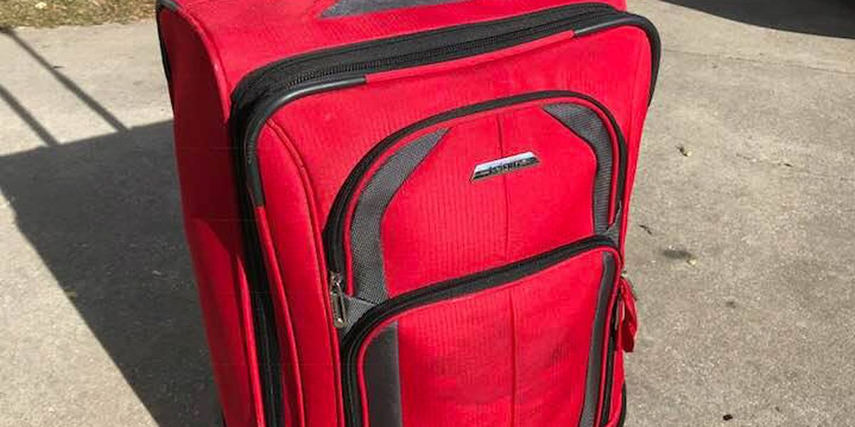 SC couple's attempt to reunite owner with red suitcase is going viral