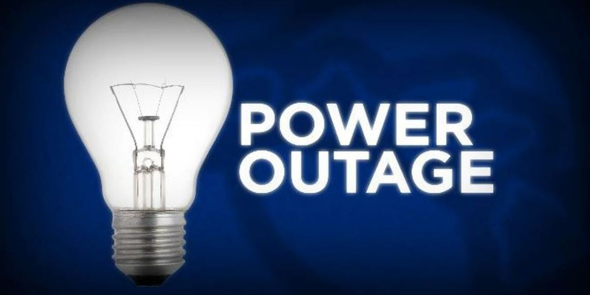 LIST: Reports of power outages as severe weather moves through Grand Strand, Pee Dee