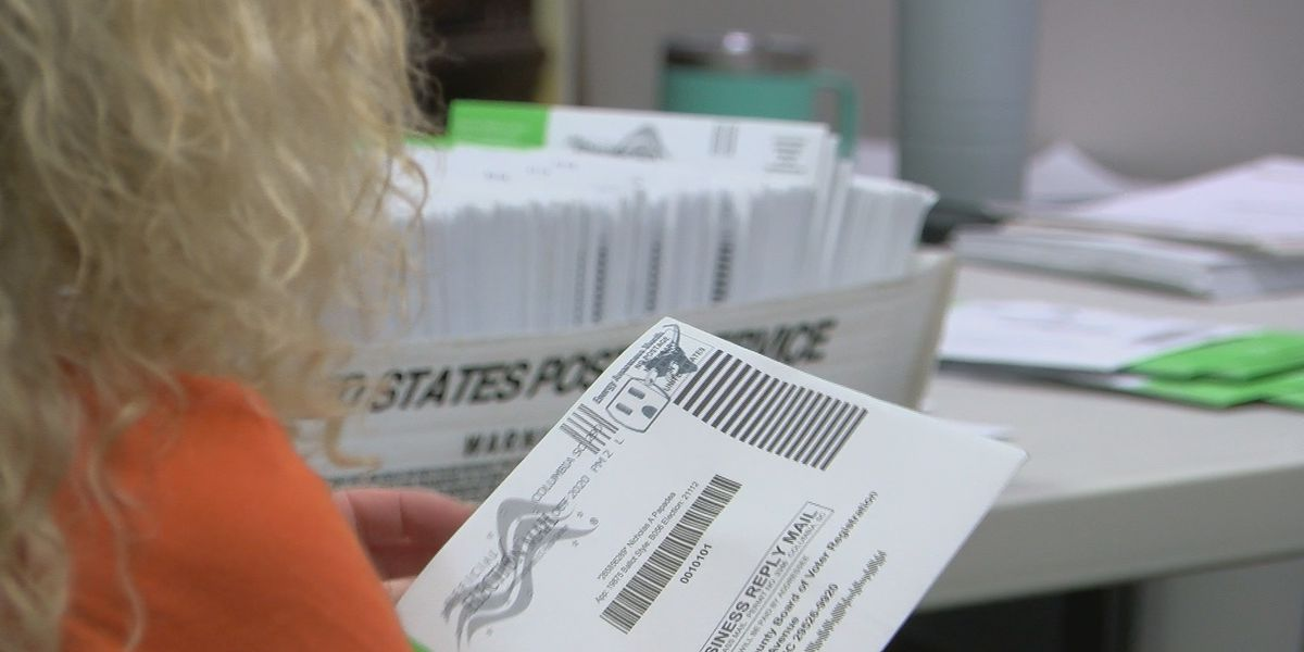 Horry County election officials allowed to open, but not count, mail-in ballots before Election Day